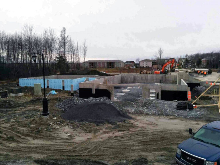 Project: residential and commercial concrete formwork