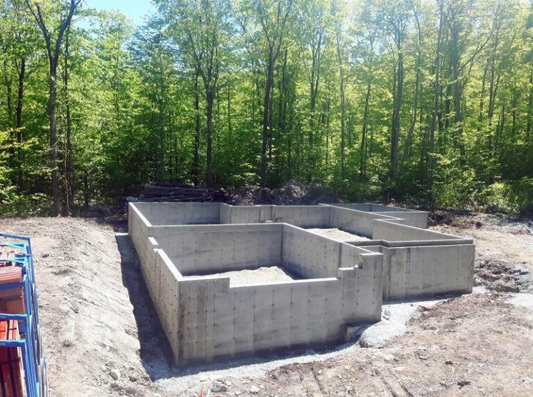 Project: concrete slabs