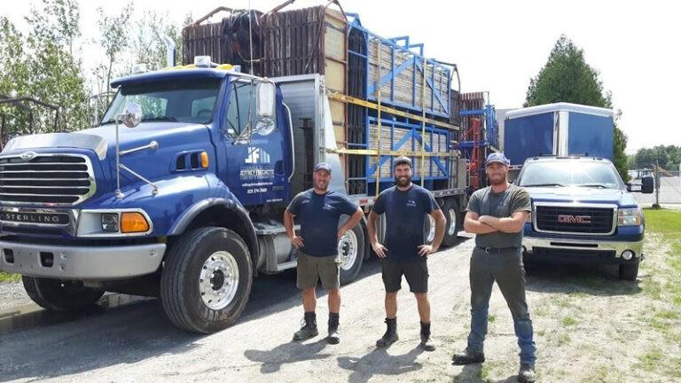 Frechet & Sons Concrete Formwork professional team in New Hampshire