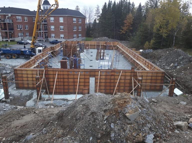 Project: formwork foundation