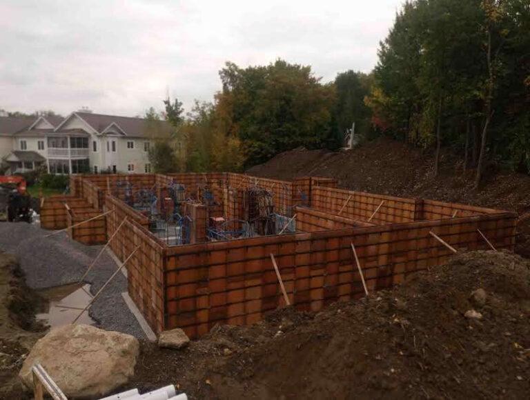 Project: foundation slab