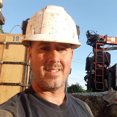 Jeffrey Frechette, concrete construction contractor in New Hampshire
