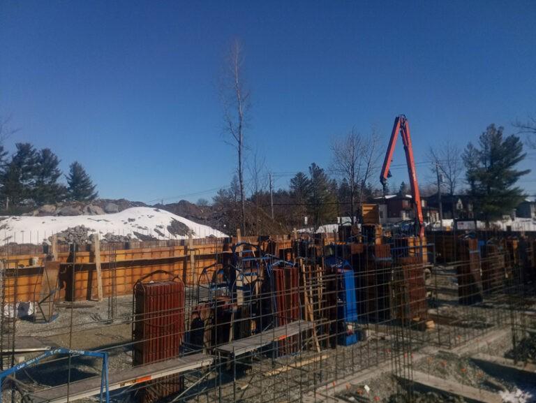 Project: concrete formwork